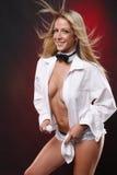сексуальный tux стоковые фотографии rf