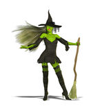 сексуальная ведьма Стоковые Фото