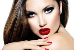 Сексуальная девушка красоты Стоковое фото RF