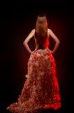 Сексуальная девушка с длинними волосами Стоковая Фотография RF