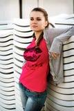 Сексуальная девушка Стоковое фото RF