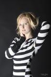 Сексуальная молодая женщина Стоковое Изображение RF