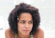 Сексуальная доминиканская девушка стоковые изображения