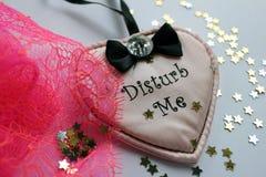 Сексуальное сообщение валентинки Стоковое Фото