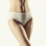 Сексуальное тело индийской женщины Стоковые Фото