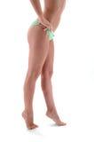 Сексуальные ноги женщины Стоковые Фото
