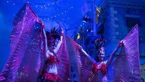 Сексуальные танцоры масленицы Стоковая Фотография RF