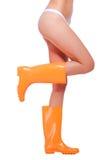 Сексуальный во всех ботинках Стоковое Фото