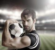 Сексуальный спортсмен стоковое изображение