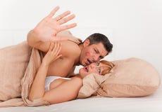 секс пар Стоковая Фотография