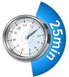 Секундомер вектора Классический вектор EPS 10 секундомера Стоковое Изображение RF