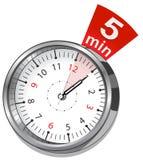 Секундомер вектора Классический вектор EPS 10 секундомера Стоковая Фотография