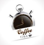 Секундомер - время кофе бесплатная иллюстрация