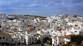 села Испании белые Стоковая Фотография