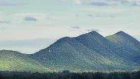 Селективный фокус взгляда ландшафта горы Стоковое фото RF