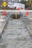 Селитебная конструкция газопровода Стоковое фото RF
