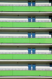 селитебное дома балкона новое Стоковая Фотография RF