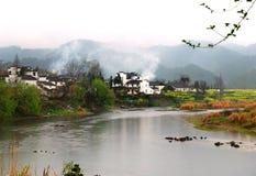 село весны реки Стоковое Фото