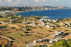 село взгляда моря залива Стоковое фото RF