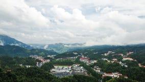 Село в горах Стоковые Изображения