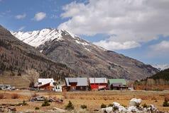 село горы colorado утесистое Стоковая Фотография