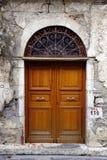 село двери старое малое Стоковое Фото