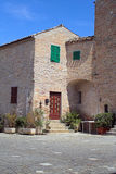 село дома итальянское малое Стоковые Изображения RF