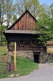 село дома цветка старое Стоковые Фото
