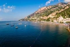 село залива amalfi Стоковое фото RF