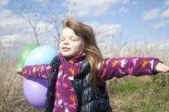 село игр девушки маленькое Стоковое Изображение