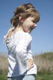 село игр девушки маленькое Стоковое Фото