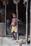 село индейца детей стоковые фото