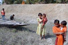 село индейца детей стоковое фото rf