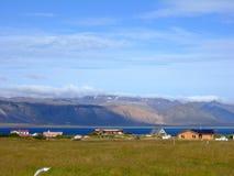 село Исландии Стоковая Фотография