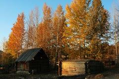 село кабины стоковое фото rf