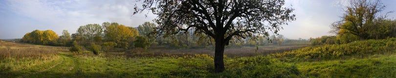 село ландшафта Стоковое Фото