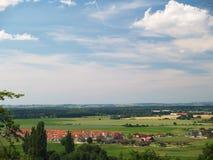 село ландшафта стоковые фото
