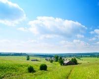 село лета дня русское Стоковая Фотография
