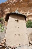 село Мали зернохранилища dogon Африки Стоковое Изображение RF