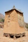 село Мали зернохранилища dogon Африки Стоковое Фото