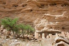 село Мали dogon Африки Стоковое Фото
