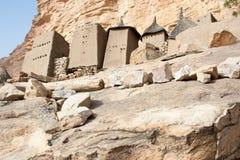 село Мали dogon Африки Стоковая Фотография