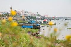 Село общины Cham Стоковое Изображение