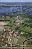 Село около Cottbus Стоковые Фотографии RF