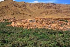 село панорамы холмов морокканское Стоковое Изображение