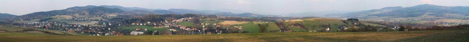 село панорамы стоковые фото