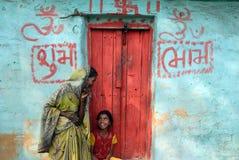 село положения жизни bihar Индии Стоковое Фото