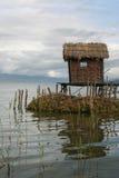 село рыболова Стоковые Изображения