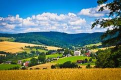 село сельской местности Стоковые Изображения RF