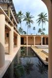 Село спы, минималист индийская спа Стоковая Фотография